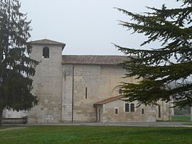 The church in Coutures
