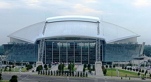 "This is a picture of ""Cowboys Stadium&quo..."