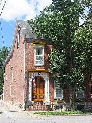 National Register of Historic Places listings in Jefferson County, Indiana - Image: Crawford Whitehead Ross House