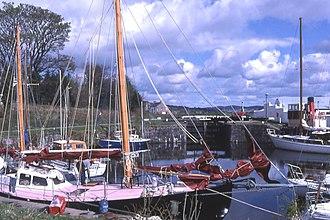 Crinan Canal - Ardrishaig basin.