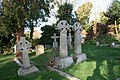 Crosses in the graveyard - geograph.org.uk - 1611045.jpg