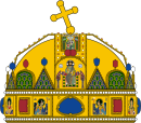 Crown of Saint Stephen.svg