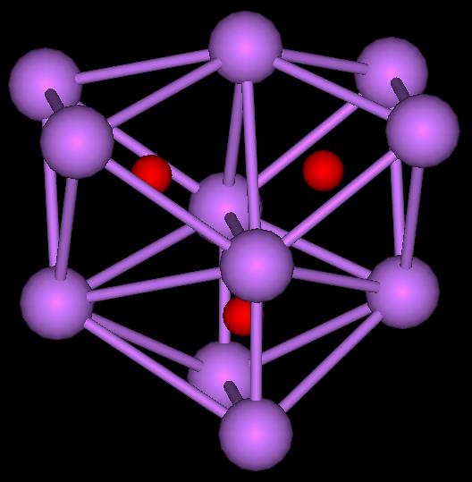 Cs11O3 cluster