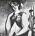 Csontváry Kosztka Tivadar - 1902 körül - Liliomos nő.jpg