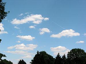 Cumulus humilis cloud - Image: Cumulus humilis