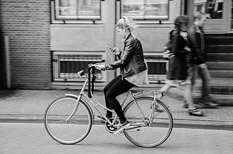 Bicycle culture - Cycling in Amsterdam is the most common form of transit.