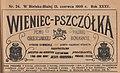 Czasopismo Wieniec Pszczółka 1909.jpg