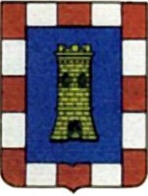 Costanza d'Avalos, Duchess of Francavilla - Coat of arms of the d'Avalos family