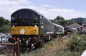 British Rail Class 28 - D5705 at Matlock