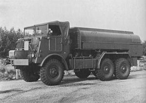 DAF YA 616 6 ton Militairy Fuel Truck.