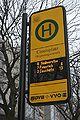 DFI integriert in Haltestellenschild Carolaplatz 2010-02-14.JPG