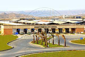 DHA City - Image: DHA City Karachi Entrence