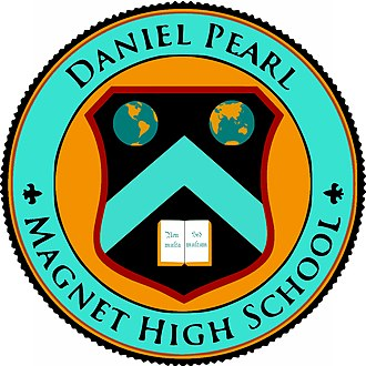 Daniel Pearl Magnet High School - Image: DPMH Sseal