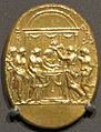 Da valerio belli, placchetta con adorazione dei magi, 1500-1550 ca..JPG