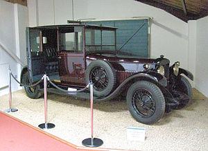 Daimler Double-Six sleeve-valve V12 - Double-Six 30 brougham