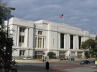 Dallas Union Station main railway station in Dallas, Texas, United States