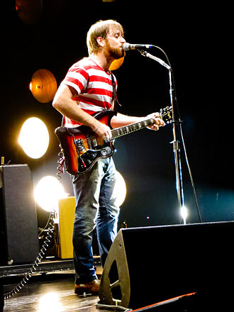 Dan Auerbach - Auerbach at Madison Square Garden in 2012