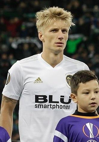 Daniel Wass - Wass with Valencia in 2019