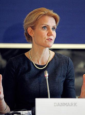 Danish general election, 2007 - Image: Danmarks statsminister Helle Thorning Schmidt vid de nordiska statsministrarnas mote vid Nordiska Radets session i Kopenhamn (1)