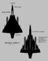 Dassault Mirage 2000-5 silhouette showing external stores configuration.png