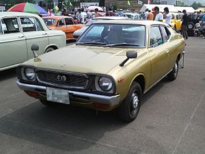 Nissan Cherry - A Japanese-market Cherry F-II Coupé 1200