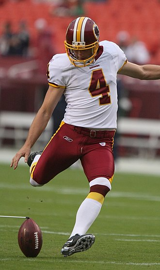Dave Rayner - Dave Rayner in 2009 as a member of the Washington Redskins