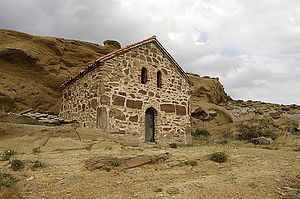 David Gareja monastery complex - A part of the complex on the territory of Aghstafa Rayon on Azerbaijan