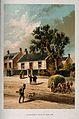 David Livingstone's house at Hamilton, Scotland. Lithograph. Wellcome V0018820.jpg