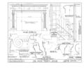 David Wilmot House, Wayne Street, Bethany, Wayne County, PA HABS PA,64-BETH,1- (sheet 9 of 9).png