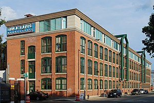 Davol Square - former Davol Rubber Company at Davol Square