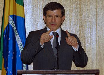 English: Prof. Dr. Ahmet Davutoglu, Minister o...