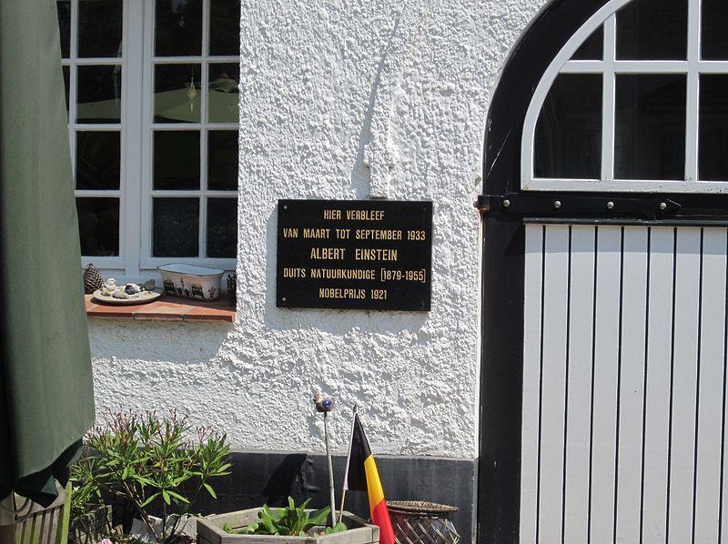 File:De Haan Plaquette Villa Savoyarde Albert Einstein.JPG