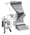 De Vinne 1904 - Linotype machine diagram.png