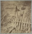 Dead Confederate soldier in trenches of Fort Mahone in front of Petersburg, Va., April 3, 1865 LCCN2012647837.tif