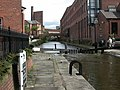Deansgate, canal lock - geograph.org.uk - 1469921.jpg