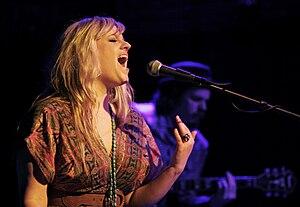 Debra Arlyn - Debra Arlyn performing on stage in February, 2011