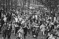 Deelnemers aan de hardloopwedstrijd in actie, Bestanddeelnr 932-4666.jpg