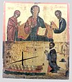 Deesis and votive scene (Byzantine museum).jpg