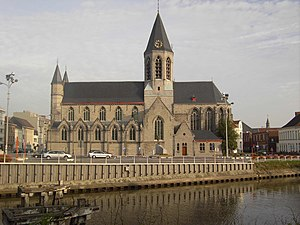 Church of Our Lady in Deinze. Deinze, East Fla...