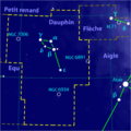 Delphinus constellation map-fr.png