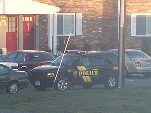 Delran Township, New Jersey - A Delran police SUV.