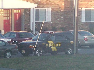 Delran Township, New Jersey - A Delran police SUV.