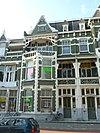 foto van Merkwaardig en goed voorbeeld van woonhuisbouw in art-nouveau stijl