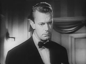 English: Dennis O'Keefe in the 1946 film Doll Face