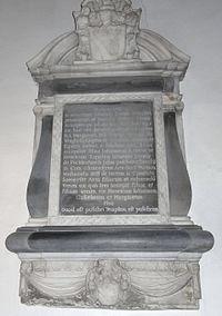 Dennis family memorial, Saint Thomas à Becket, Pucklechurch, South Gloucestershire, UK - 20090920