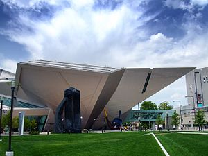 The Denver Art Museum in Denver.