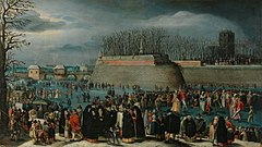 Denys van Alsloot Skating Masquerade, or Carnival on Ice at the Kipdorppoort Moats in Antwerp.jpg