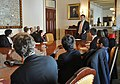 Deputy Secretary Neal Wolin speaks with students visiting from Fordham University (8596331156).jpg