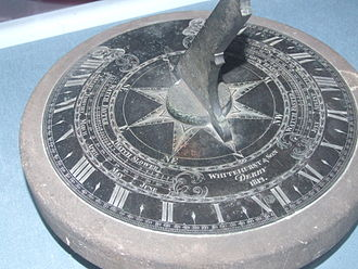 London dial - Image: Derby Sundial 5810
