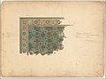 Design for a corner of a rug for the Curtis Publishing Co. MET DP154211.jpg